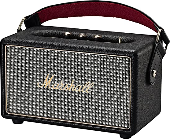 Nero Marshall Speaker Kilburn Portatile a Batteria Bluetooth per MP3//Smartphone