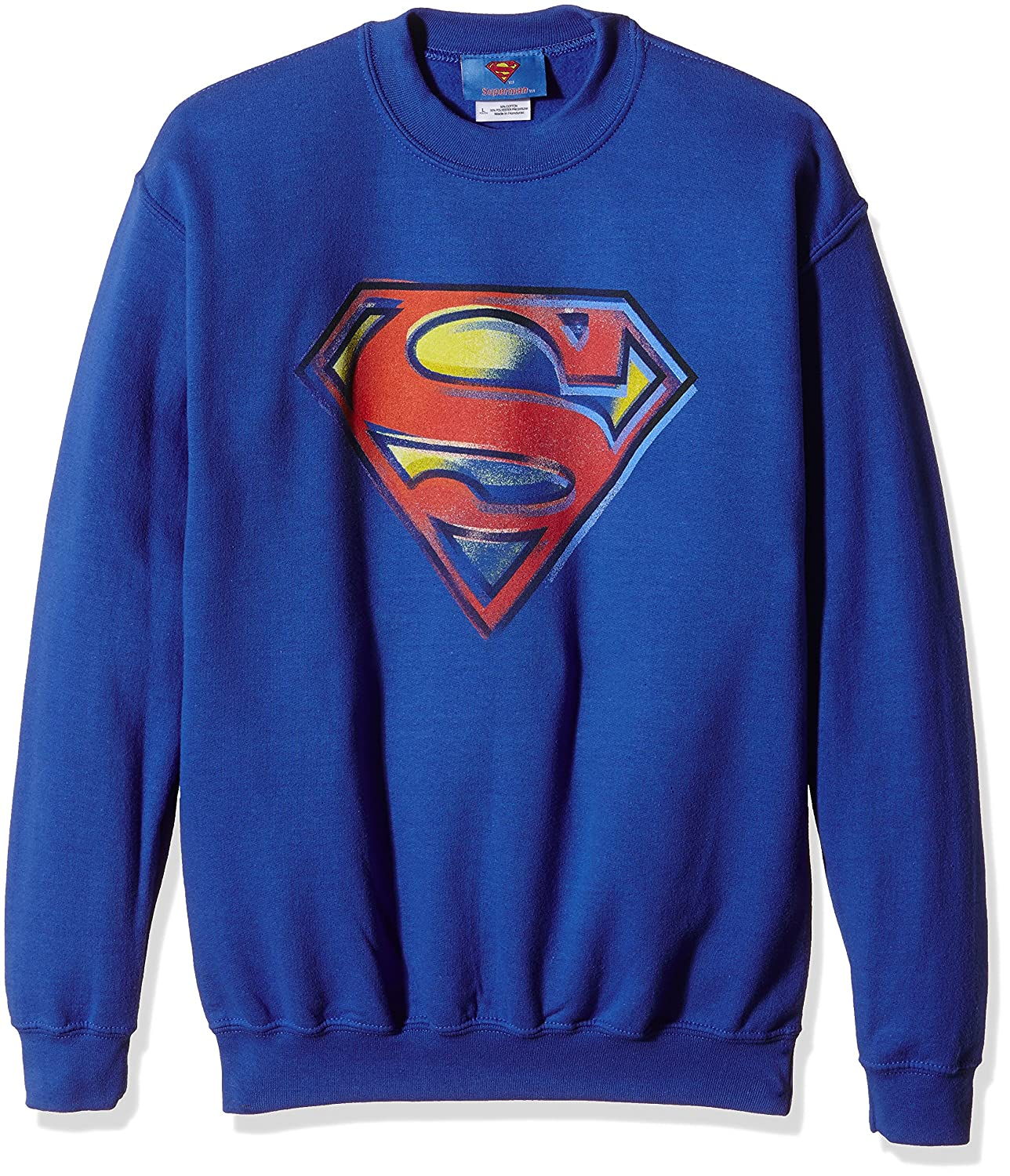 DC Universe Jungen Sweatshirt Comics Official Superman Stencil Logo DC Comics DC0004376
