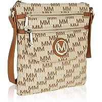 MKF Crossbody bag for women - Removable Adjustable Strap - Vegan leather Crossover Designer messenger Purse