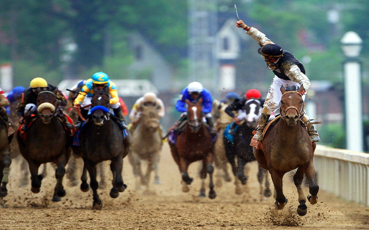 Horse racing stock photo. Image of handicap, horses, club 282598.