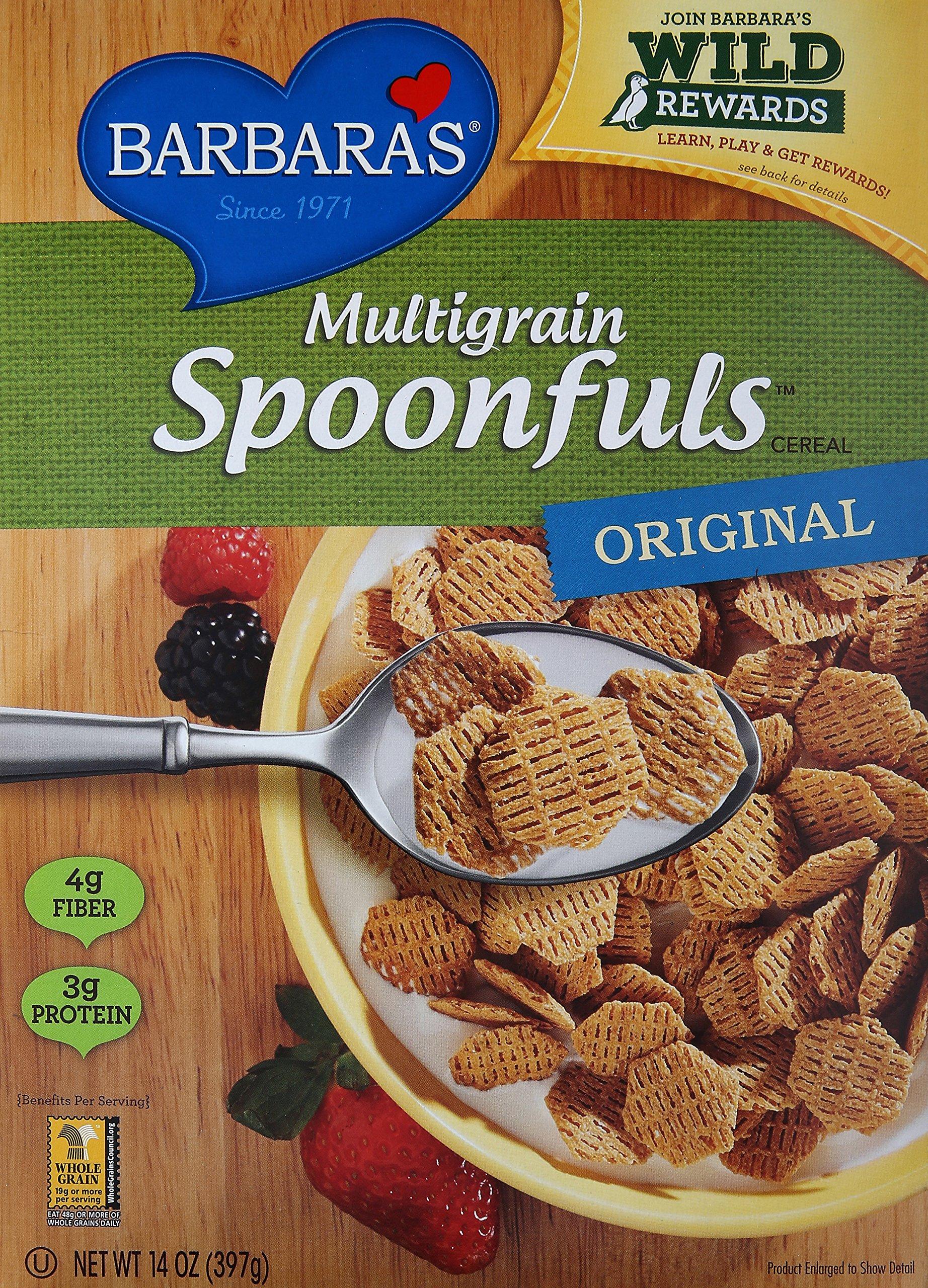 Barbara's Multigrain Spoonfuls Cereal, 14 oz