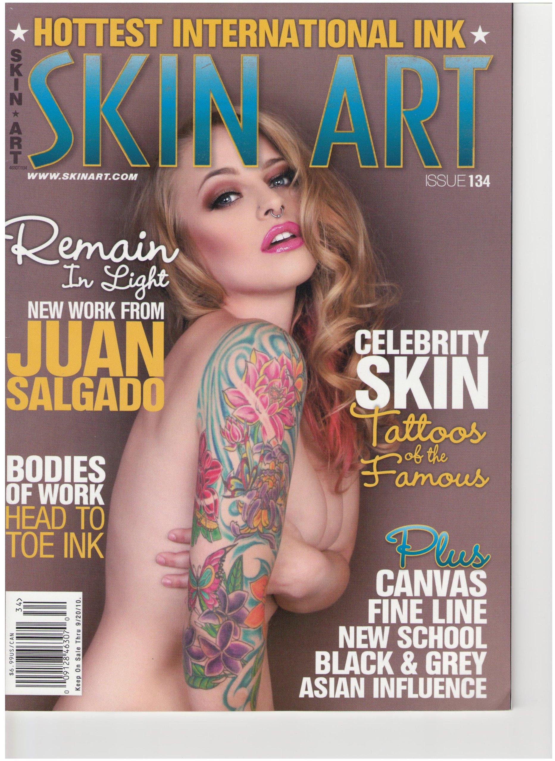 Download Skin Art Magazine (Celebrity skin Tattoos of the famous, September 2010) pdf