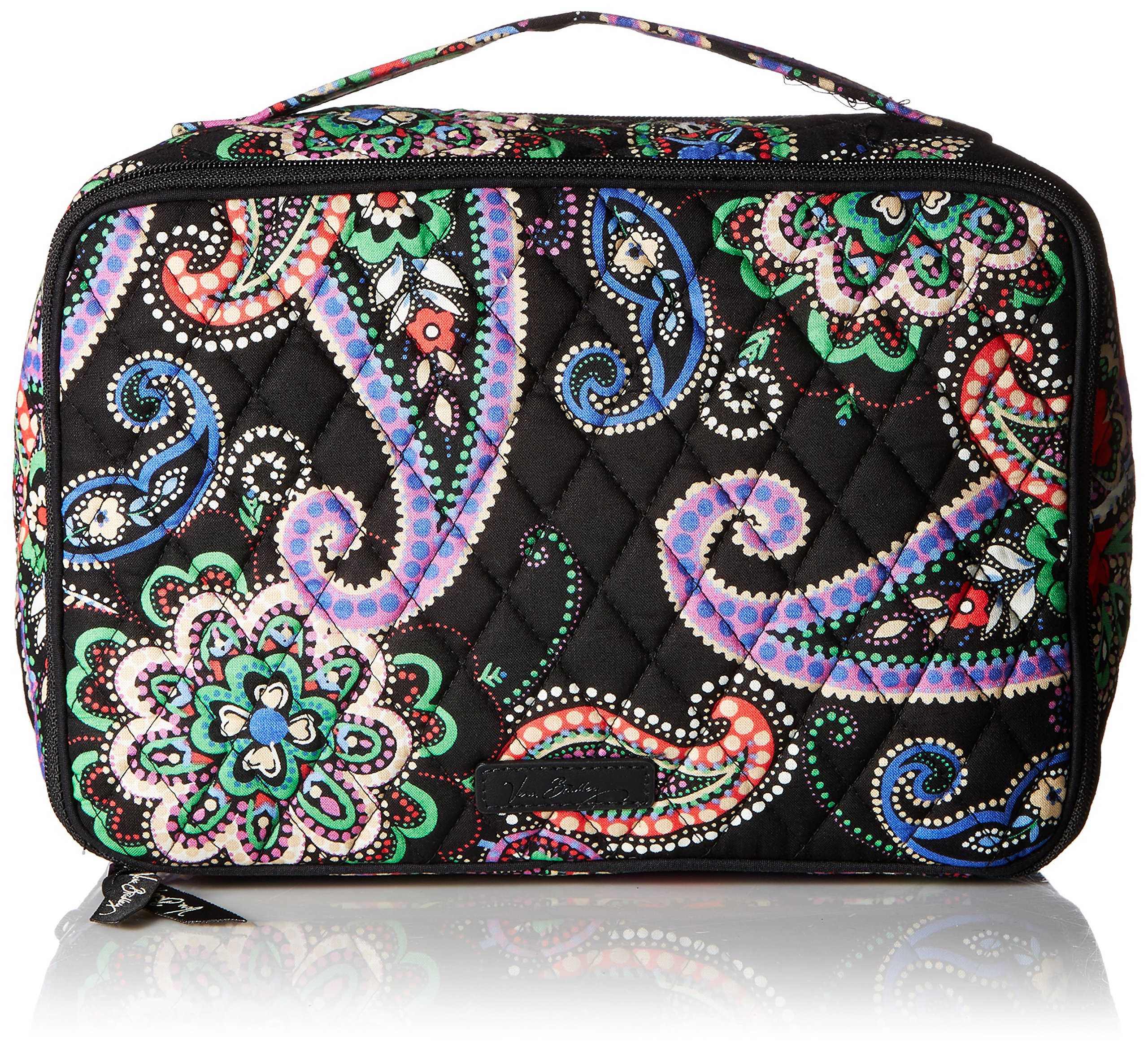 Vera Bradley Large Blush & Brush Makeup Case, Kiev Paisley