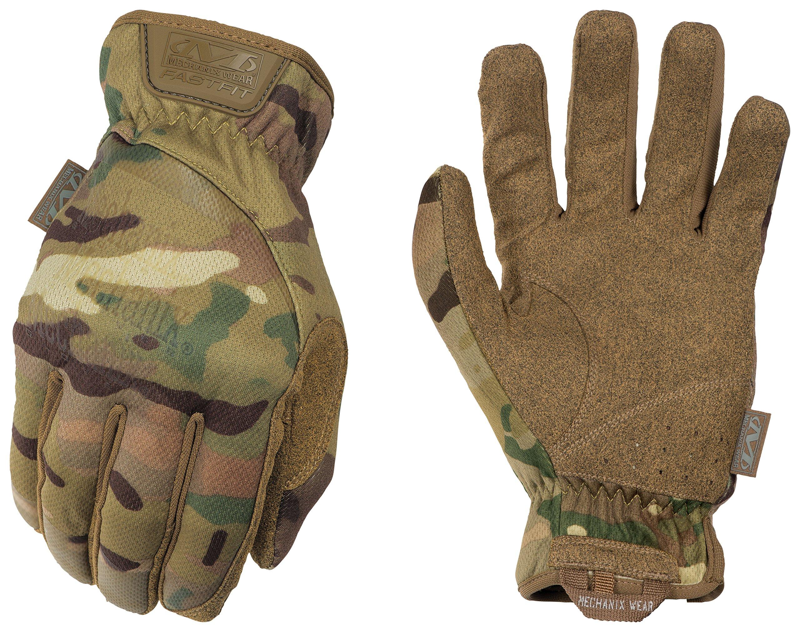 Mechanix FastFit Multicam Gloves, X-Large