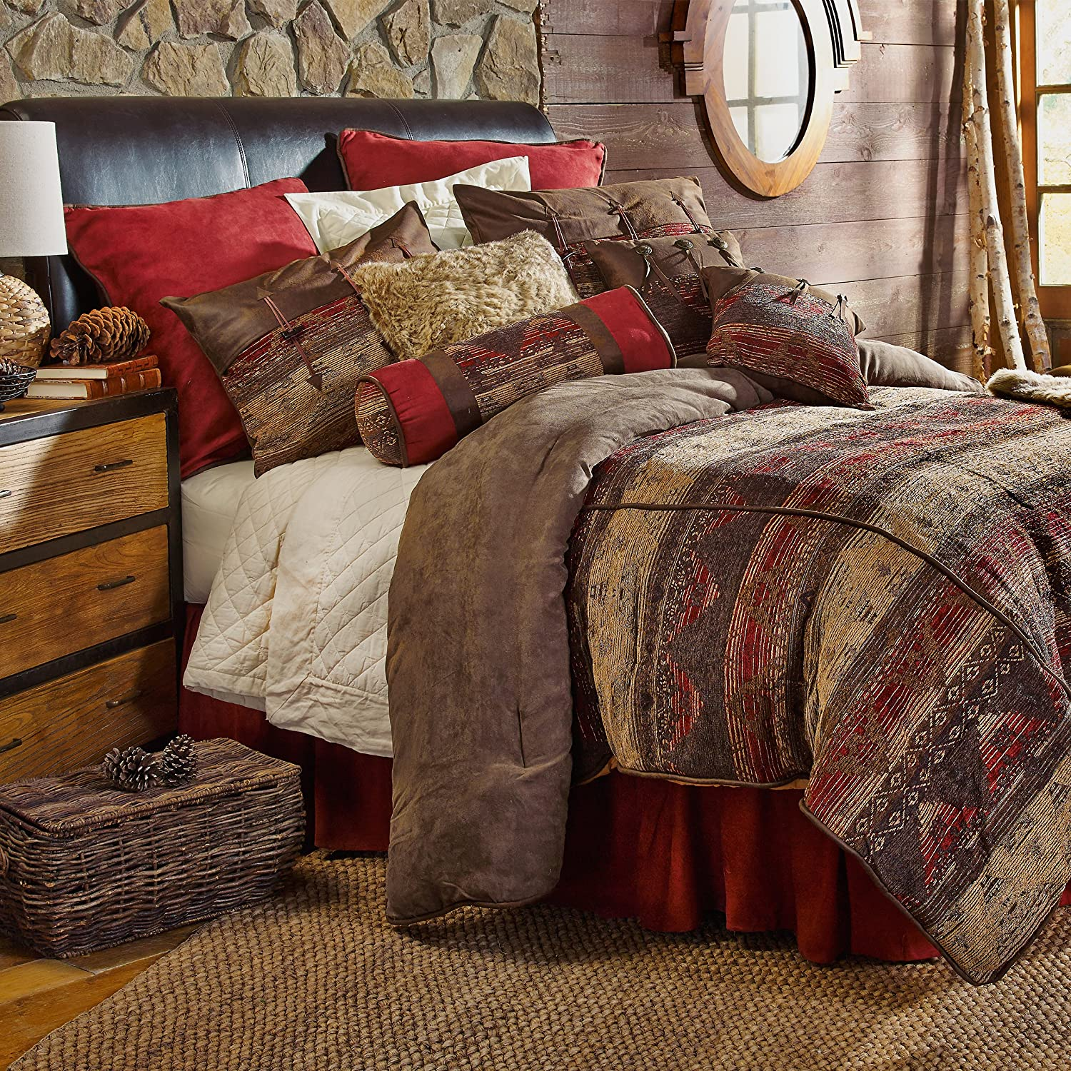 HiEnd Accents Sierra Lodge Bedding, Queen