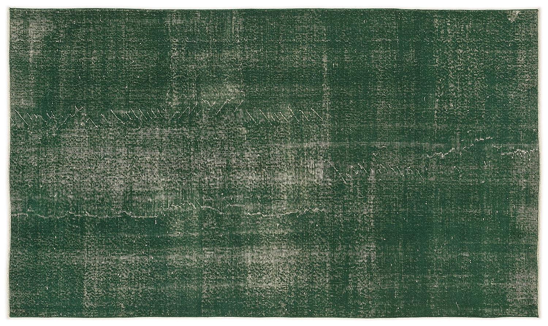 Bespoky ビンテージ 手織 ラグ 緑 ミディアムサイズ 150 X 261 Cm   B07HKXXZDM