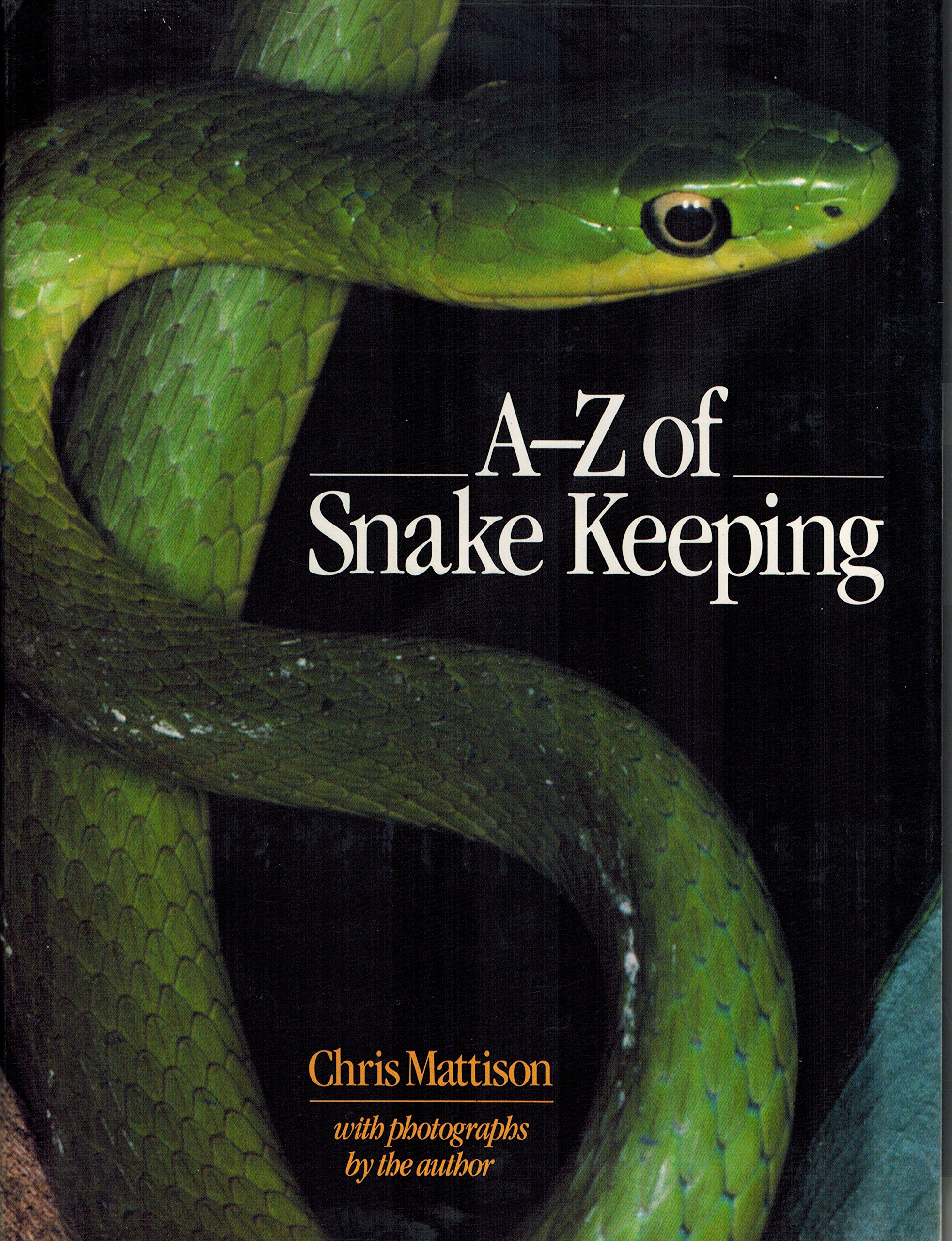 A-Z of snake keeping