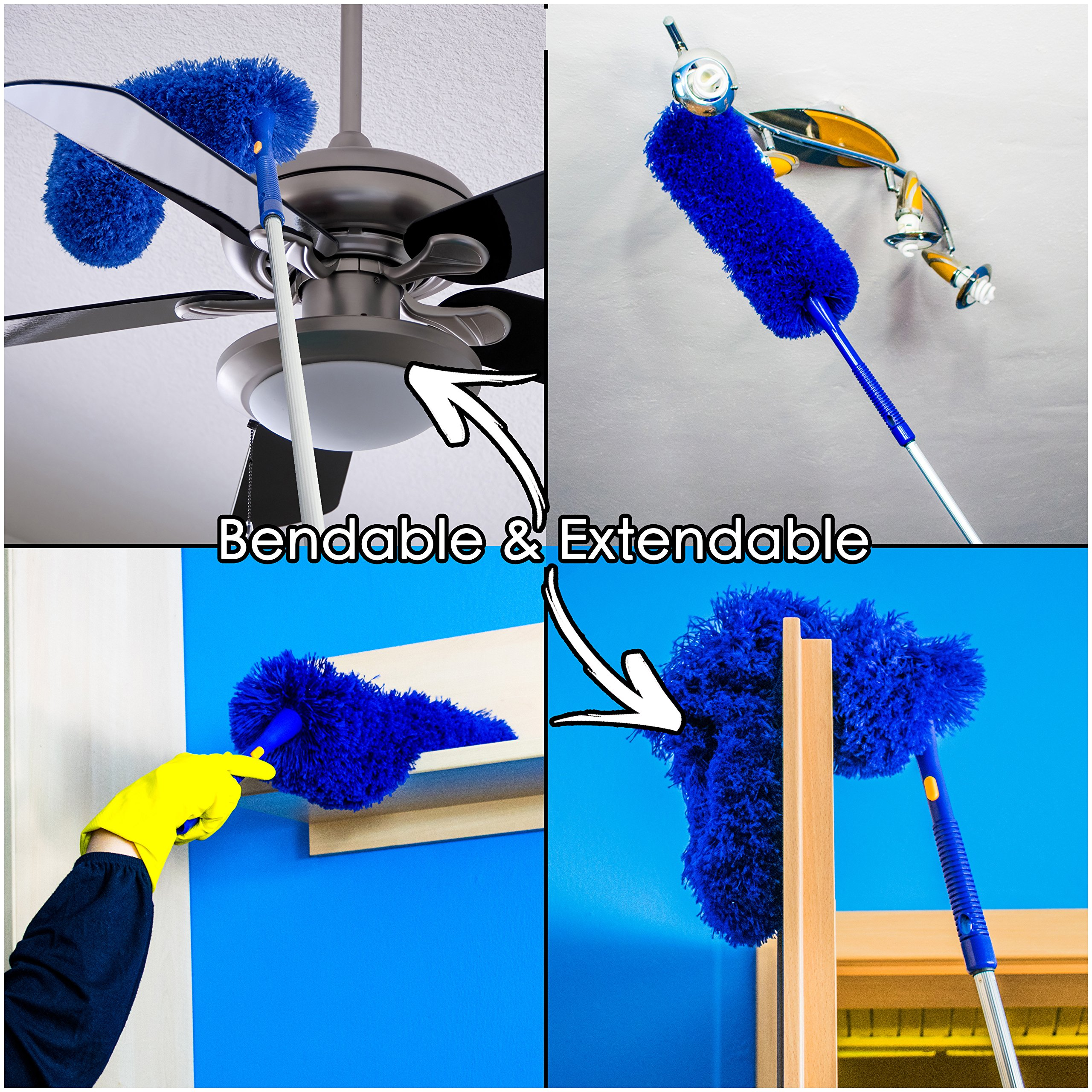 Temples Pride Microfiber Hand Duster With Extendable High