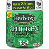 Herb-Ox Bouillon Cubes Chicken Bouillon 25 Count 3.33-oz (Pack of 2)