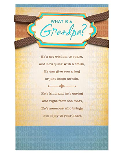 Amazon american greetings wonderful moments fathers day card american greetings wonderful moments fathers day card for grandpa with foil 6051621 m4hsunfo