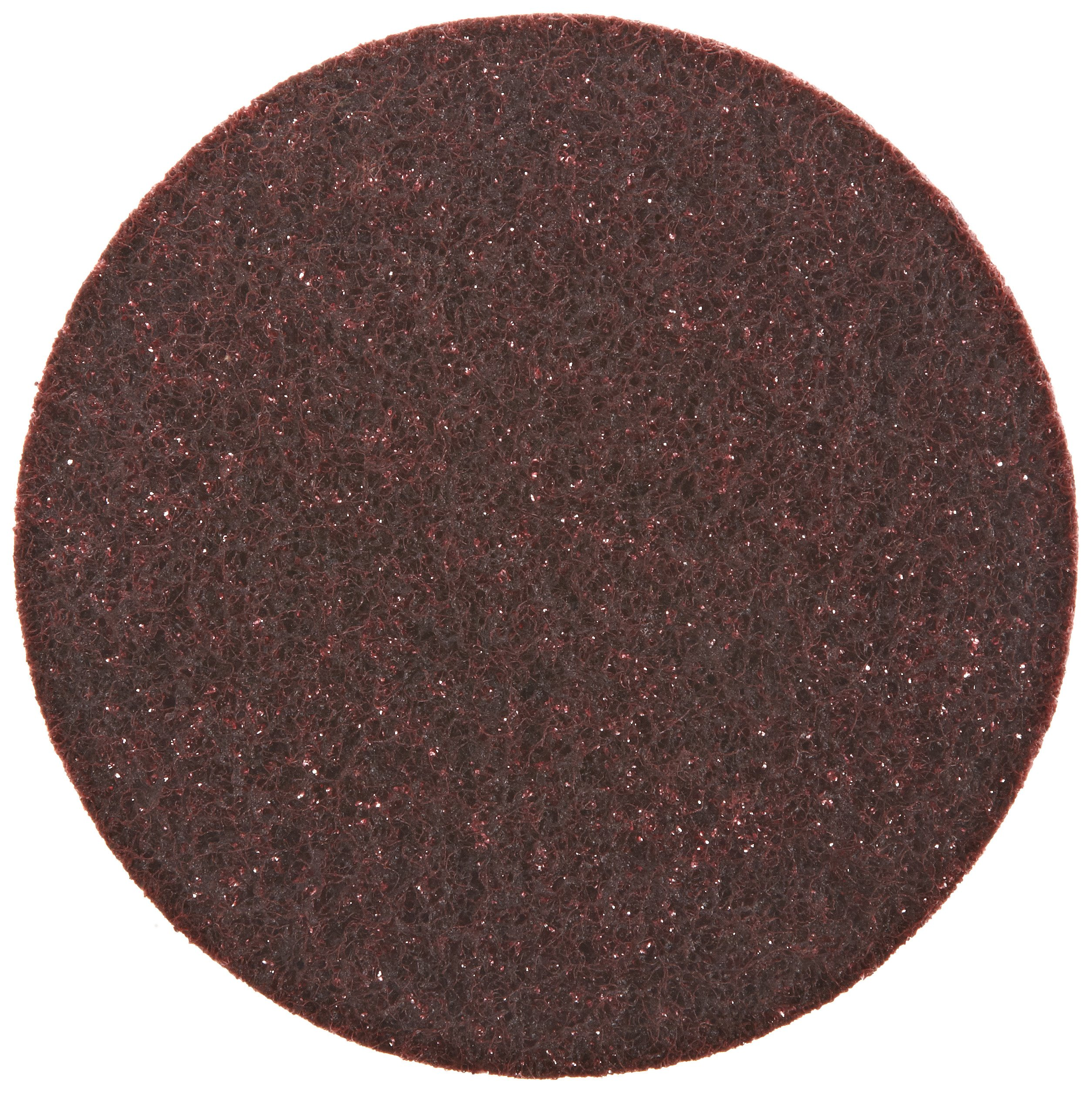 Scotch-Brite(TM) Surface Conditioning Disc, Hook and Loop Attachment, Aluminum Oxide, 5 Diameter, NH A Medium (Pack of 10)