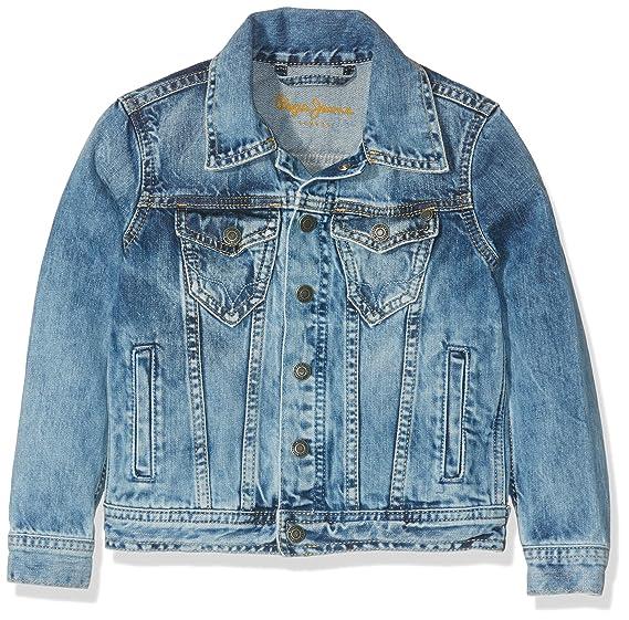 pepe jeans bambino abbigliamento  Pepe Jeans Legendary, Giacca Bambino, Blu (Denim), 14 anni: Amazon ...