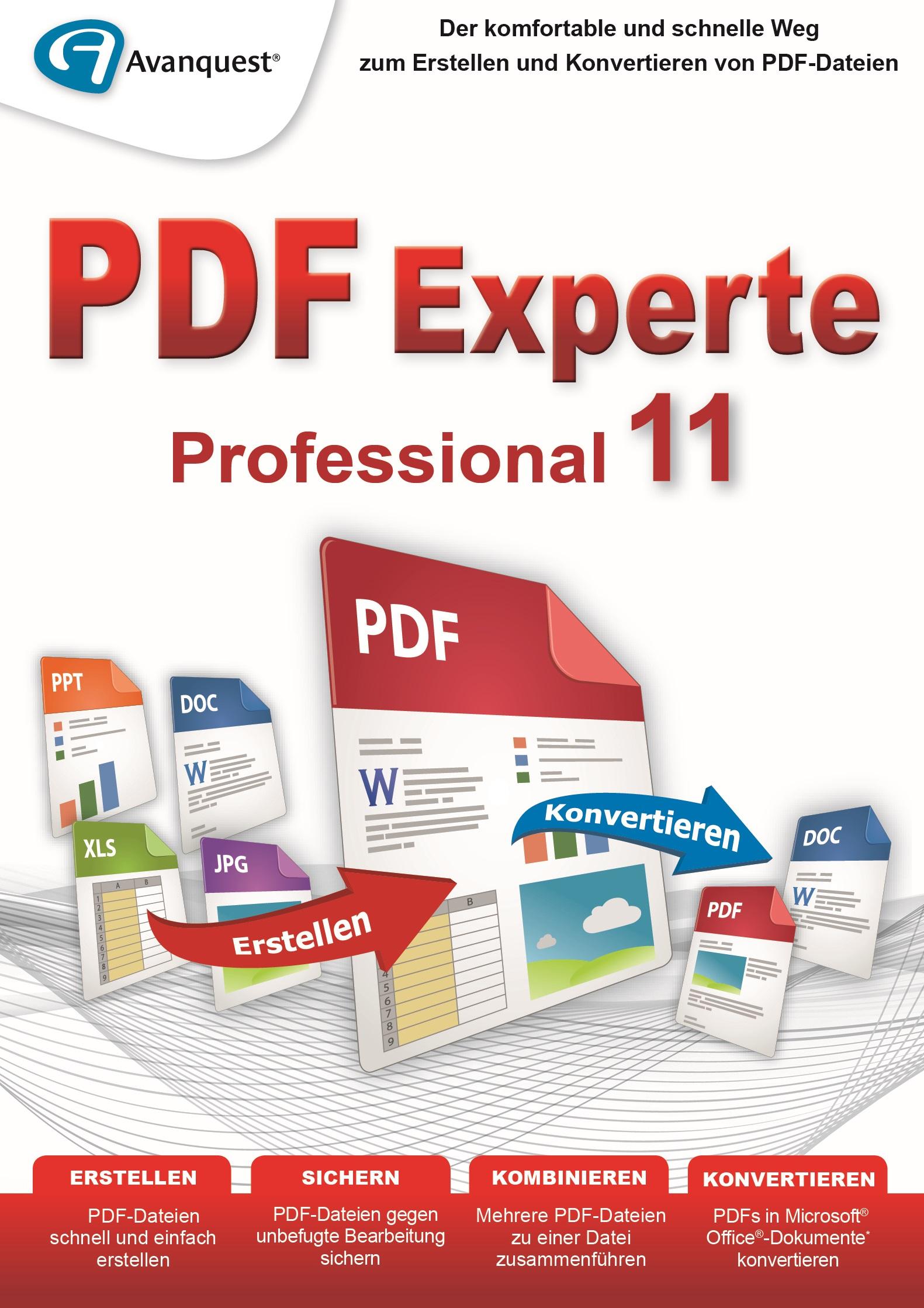 PDF Experte 11 Professional - PDF-Dateien erstellen und konvertieren ...