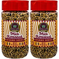 Natural Earth Products - Mix Roasted Sesame Seeds - OU-Kosher Parve - 4 Oz (113 g) (2-Pack)