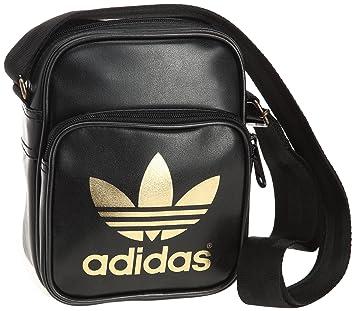 d9133116364a adidas Originals AC Mini Bag W68189 Unisex – Adult Shoulder bag 15X9X20 cm  (B x