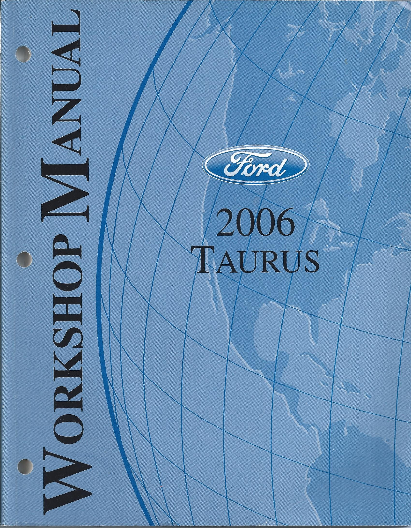 2005 ford taurus factory service manual