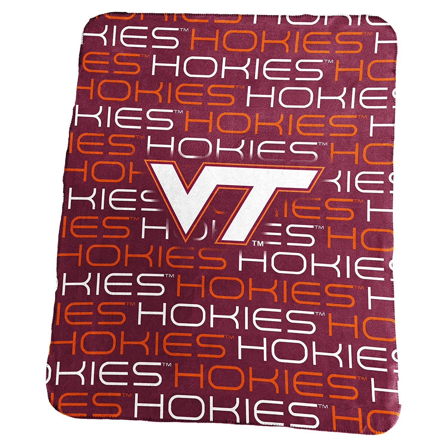 Collegiate 50x60 Classic Fleece Throw Blanket