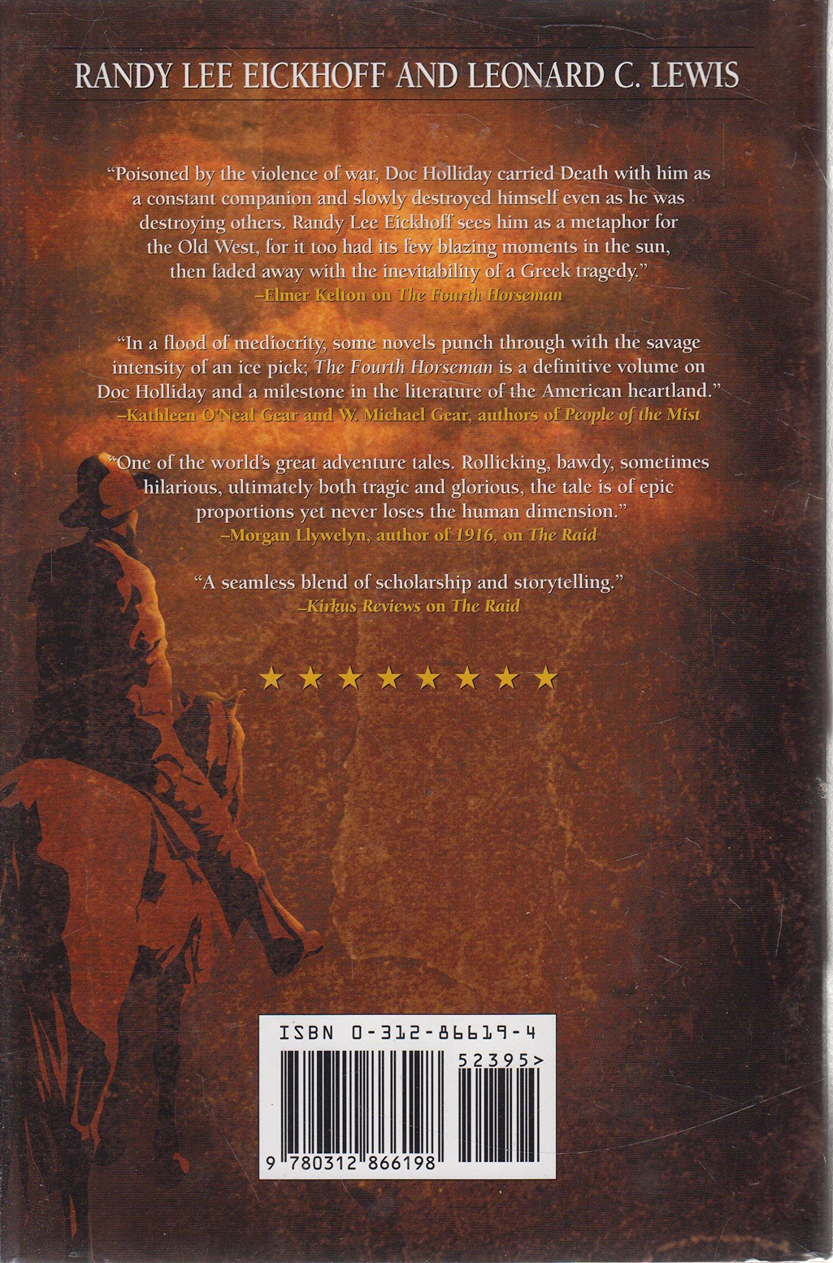 Bowie: A Novel: Randy Lee Eickhoff, Leonard C Lewis: 9780312866198:  Amazon: Books