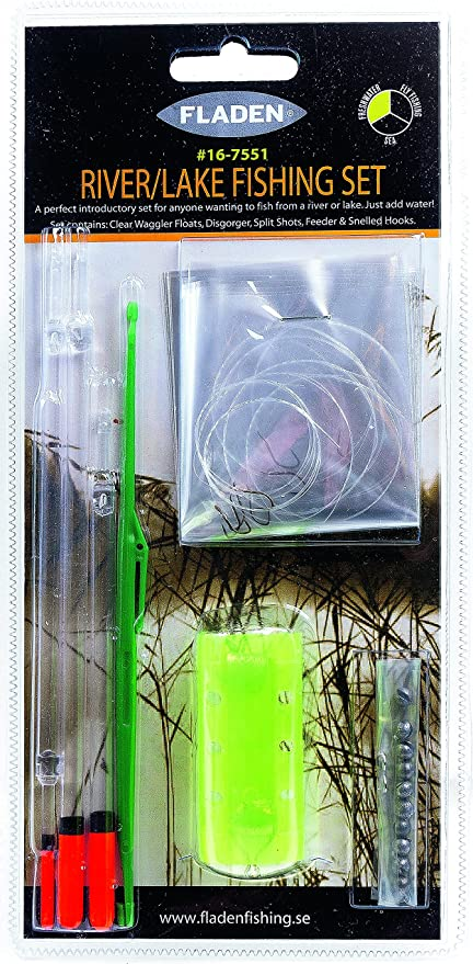Fladen aparejos de Río y lago accesorio surtidos Pack – Juego de flotadores, Split Shot, Open End Feeder, sin rebaba Anzuelos ganchos y [16 – 7551]: Amazon.es: Deportes y aire libre