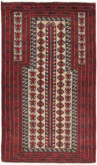 Awe Inspiring Amazon Com Baluch Rug 27X48 80X143 Cm Oriental Carpet Creativecarmelina Interior Chair Design Creativecarmelinacom