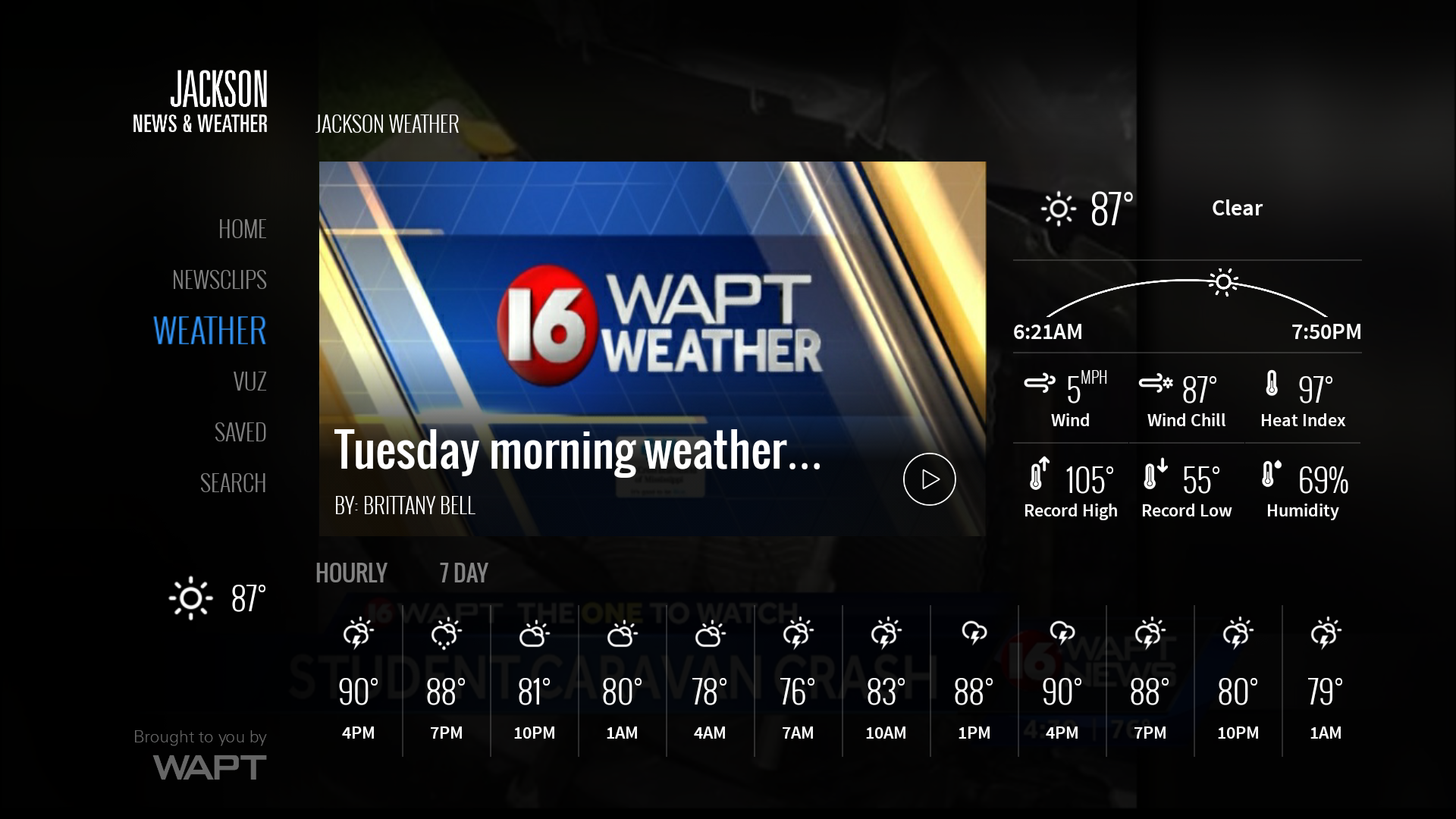 16 WAPT Jackson News, Weather