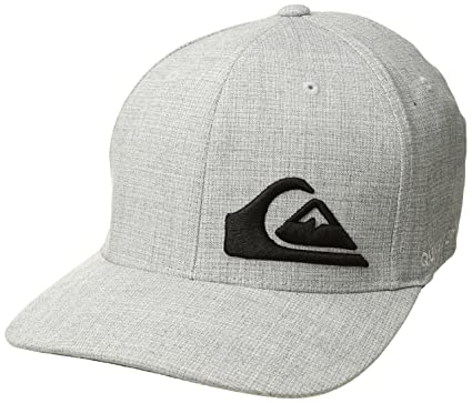 detailed look 8a50e e4ecf Quiksilver Men s Final HAT, Light Grey Heather, ...