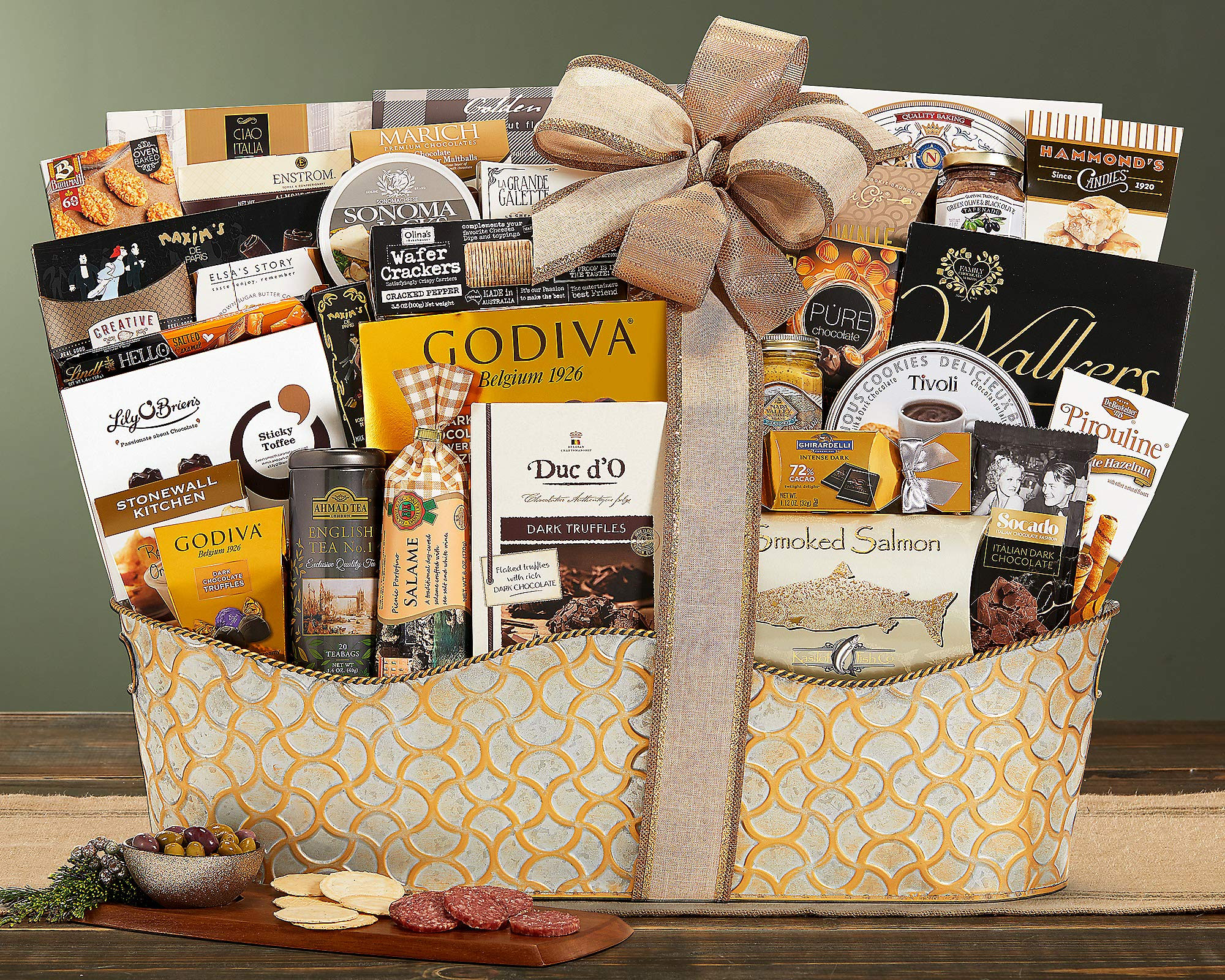 The V.I.P. Gourmet Gift Basket The Ultimate Gifting Experience by Wine Country Gift Baskets. Show Your Appreciation With This Flawless Gift Idea by Wine Country Gift Baskets (Image #2)
