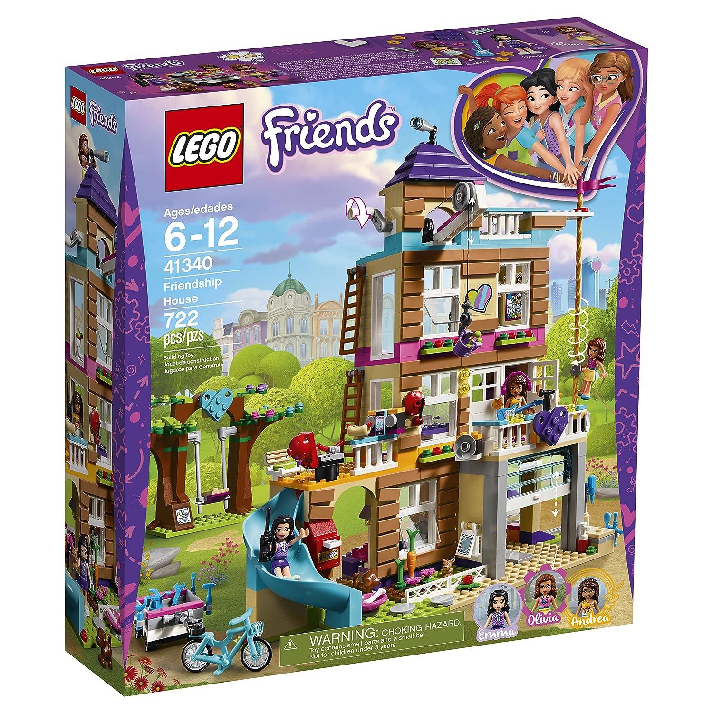 Amazon.com: LEGO Friends Friendship House 41340 Kids Building Set ...