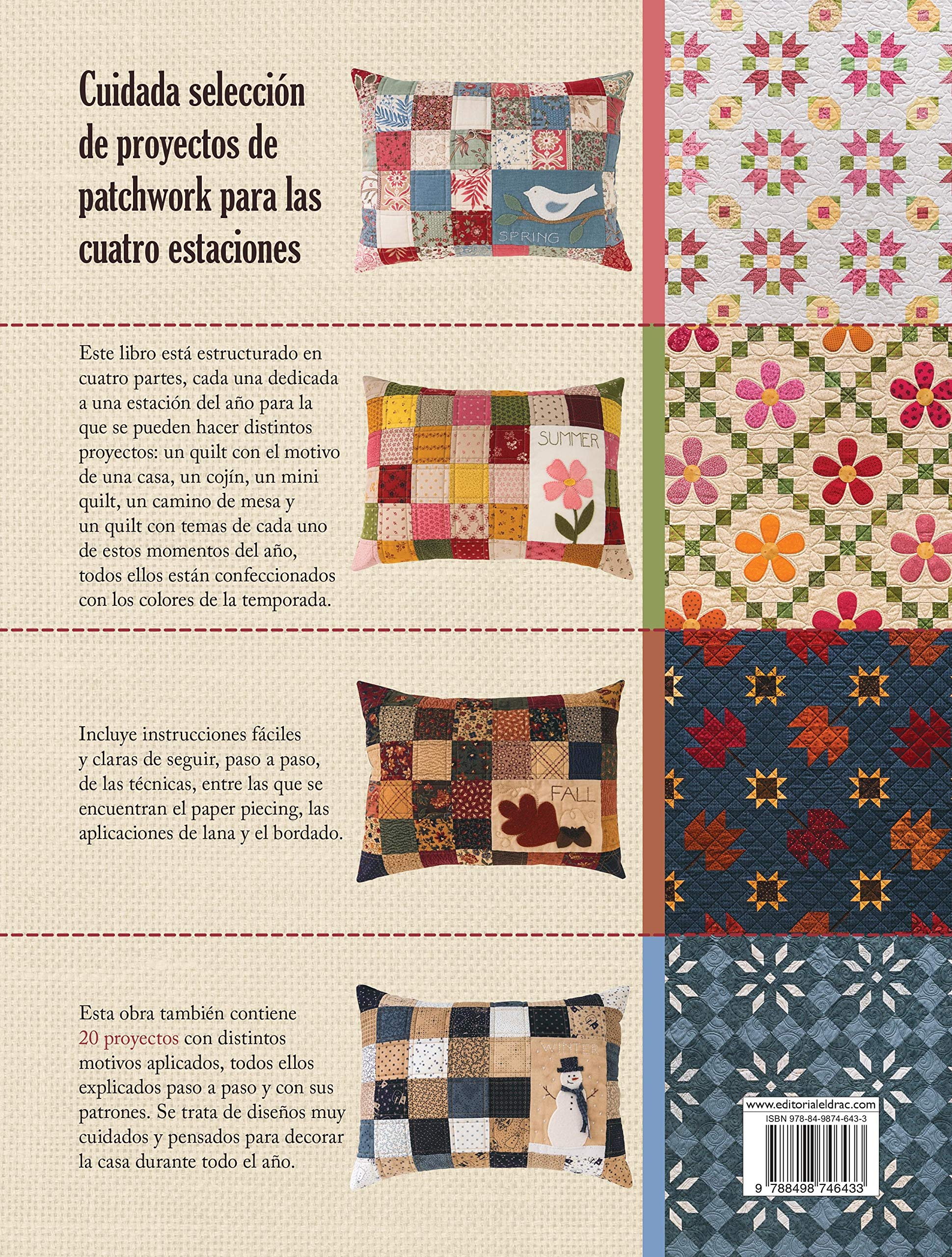 Labores De Patchwork Para Las Cuatro Estaciones: 20 ...
