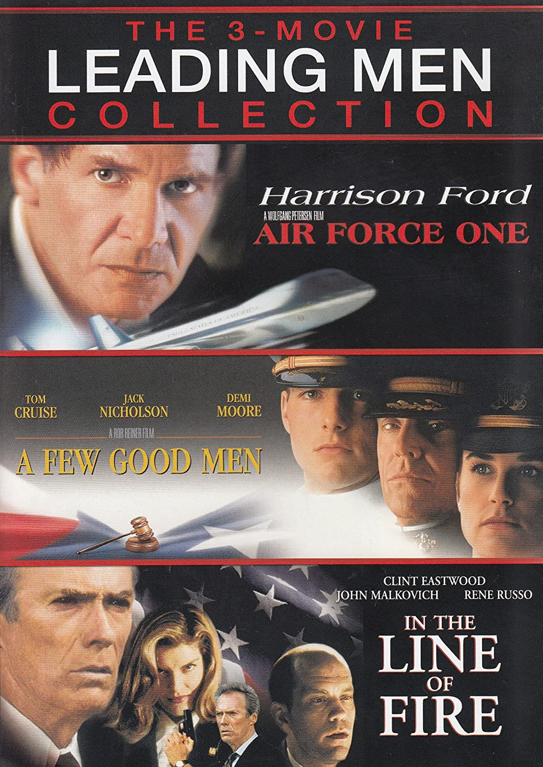 Amazon Com The 3 Movie Leading Men Collection Air Force