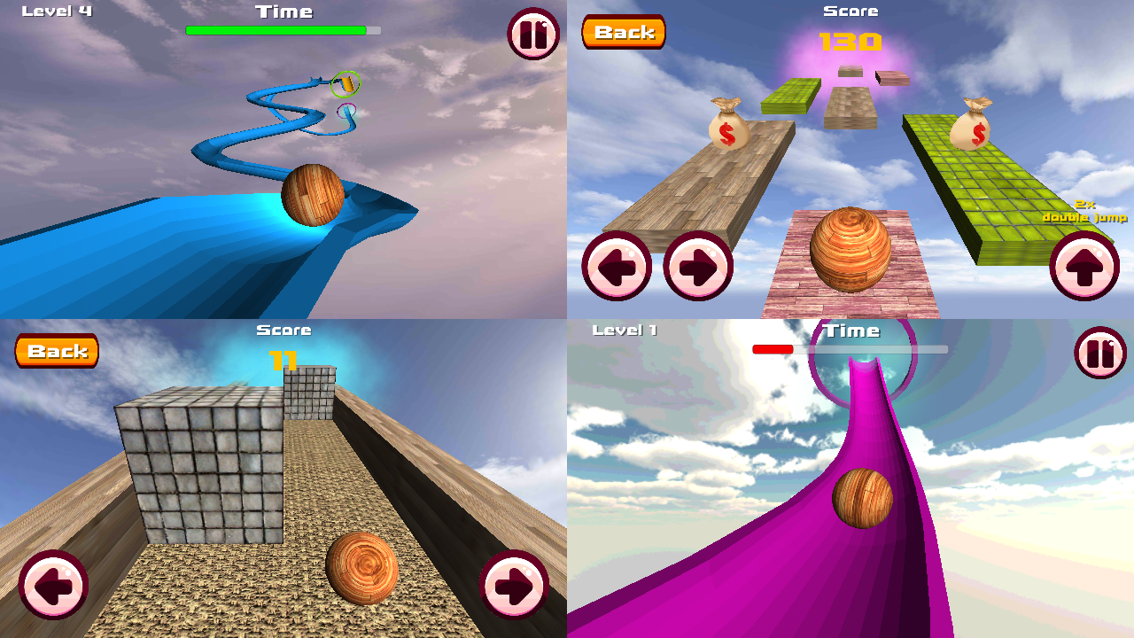 Amazon.com: Ball Coaster 3D - Roller Dash (Various Ball Games in 1):  Appstore for Android