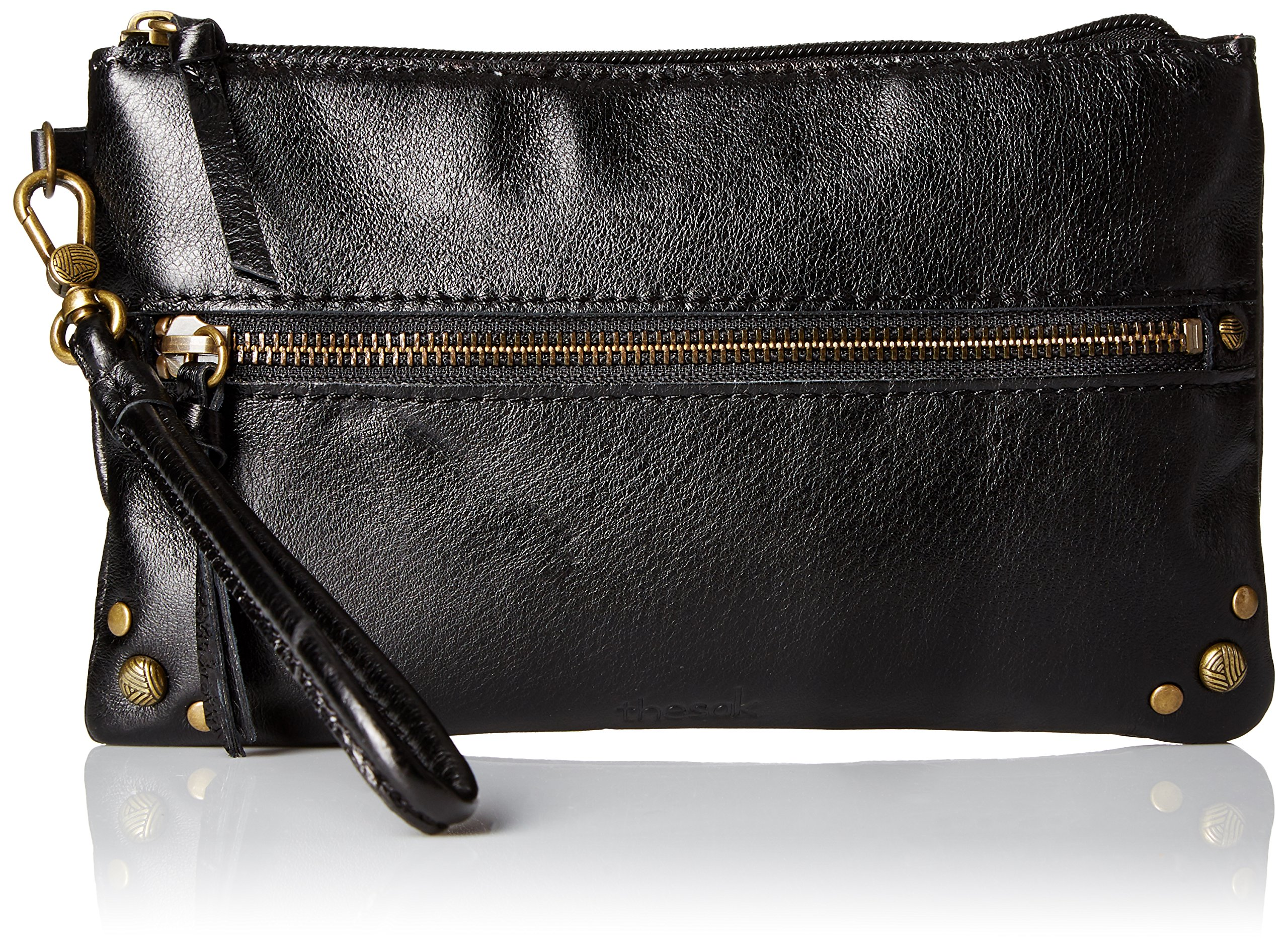 The Sak Sanibel Phone Charging Wristlet, Black Onyx