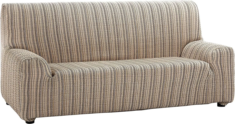 Martina Home Mejico - Funda de sofá elástica, Beige, 2 Plazas, 120 a 190 cm de ancho