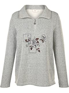 c45d913f2bda Paola Damen Pullover mit Bluseneinsatz  Amazon.de  Bekleidung