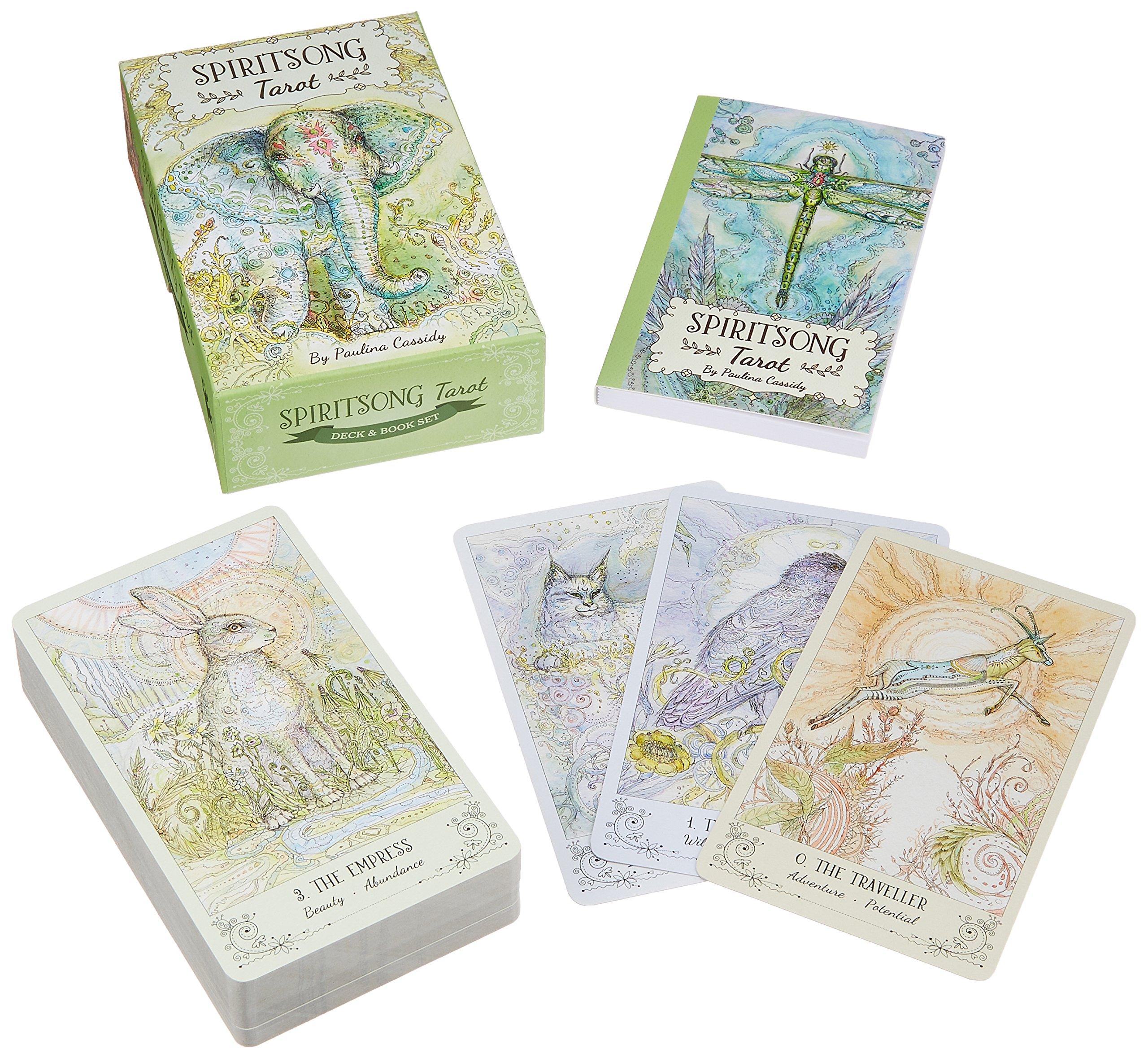 Spiritsong Tarot: Paulina Cassidy: 9781572818231: Amazon com