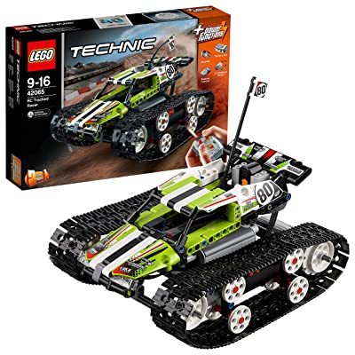 "LEGO 42065 ""RC Tracked Racer"" Building Toy: Toys & Games"