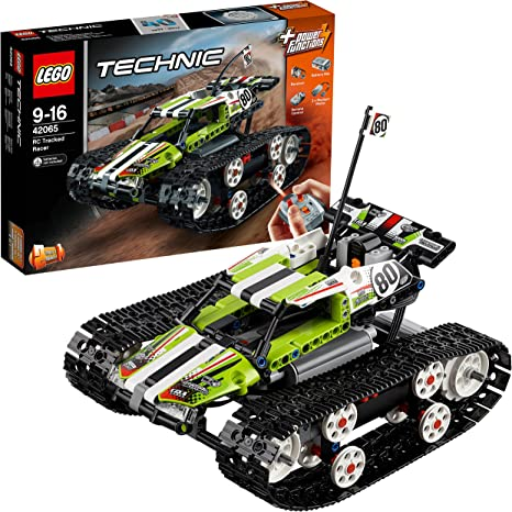 Technic Ferngesteuerter Tracked Racer 397 Stück Offroad Truck RC Tracked N1//17