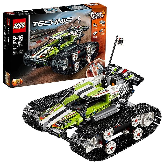 Le Jeu Télécommandé Lego De Chenilles 42065 Sur Technic Construction Bolide PO8n0wk