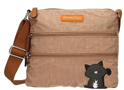 Womens Riley Cat Designer Cross-Body Bag Swankyswans BotUfc8H