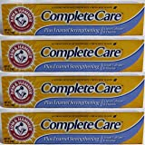 Arm & Hammer Complete Care Toothpaste, Enamel Strengthening, Fluoride Anti-Cavity, Fresh Mint 6 Ounces (Pack of 4)