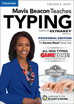Mavis Beacon Teaches Typing Powered by UltraKey v2 - Personal Edition [Download]