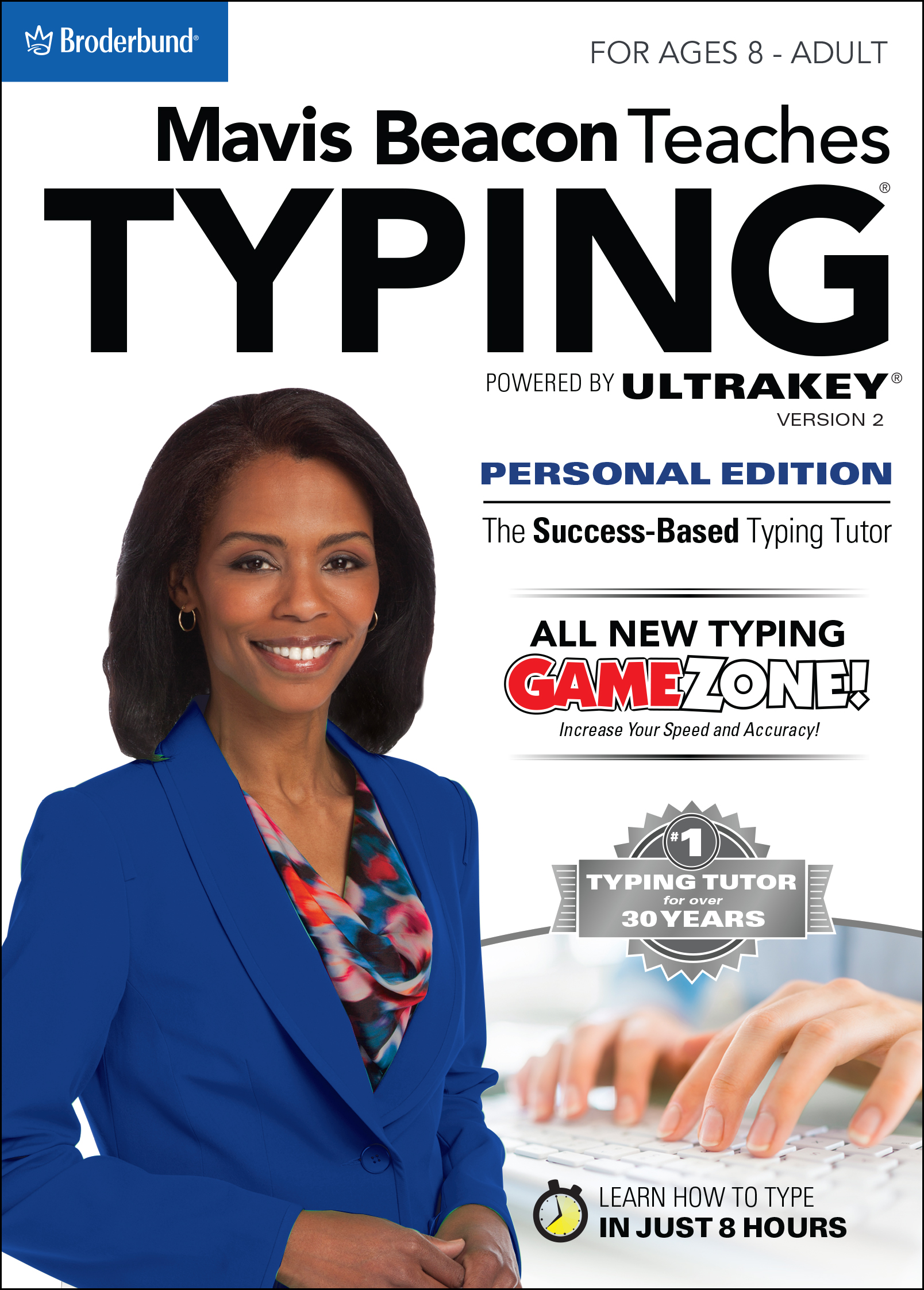 Mavis Beacon Teaches Typing Powered by UltraKey v2 - Personal Edition for Mac [Download] by Encore
