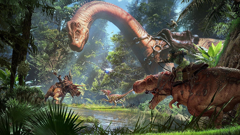 採取 恐竜 ark