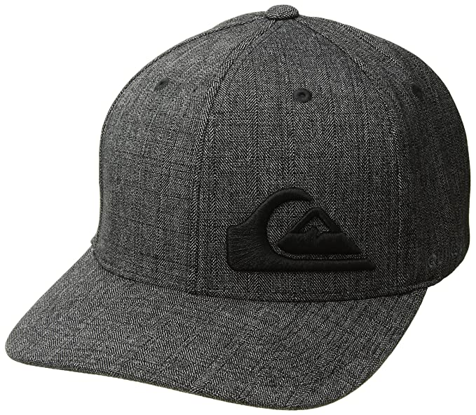 watch a3084 848db Quiksilver Men s Final Stretch FIT HAT, Charcoal Heather, ...