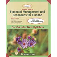 Padhuka's Students Guide on Financial Management and Economics for Finance for CA inter New Syllabus