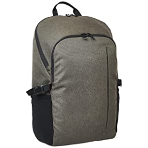 AmazonBasics Campus Backpack for Laptops up to 15-Inches - Green