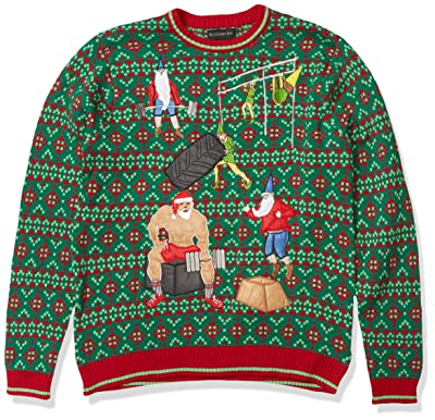 Blizzard Bay Men's Ugly Christmas Sweater Fitness