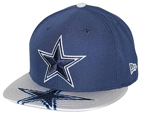 a9b8d135764 Image Unavailable. Image not available for. Color  New Era Dallas Cowboys  Visor Gleam 9Fifty Cap