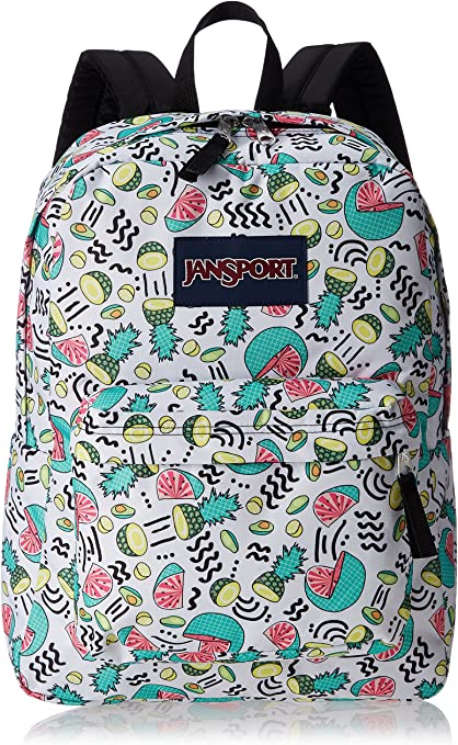 JanSport Unisex SuperBreak Fruit Ninja Backpack
