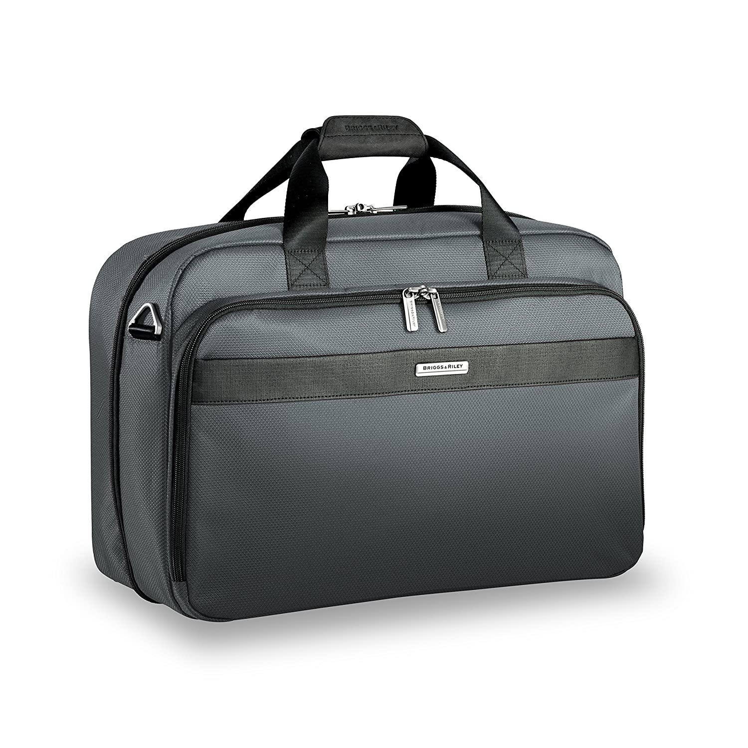 Briggs & Riley Briggs and Riley Transcend Clamshell Cabin Bag, Slate, One Size (Model: TD441-47) BRJ68